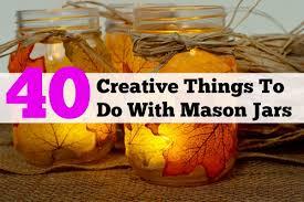 jar crafts home easy diy:  mason jar projects