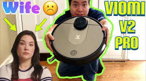 Wife Pissed , I got a Roborock Clone <b>Viomi V2 Pro</b> Unboxing and ...