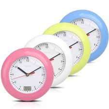 bathroom clocks industry standard design