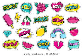 Fashion <b>Patch Oops</b> Images, Stock Photos & Vectors | Shutterstock