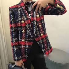 2019 Euramerican New Fashion Popular Line And Plaid Knitting ...