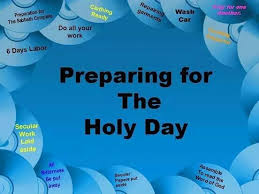 Image result for shabbat preparations