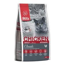 <b>Сухой корм BLITZ</b> Adult Cats Chicken для взрослых кошек с ...