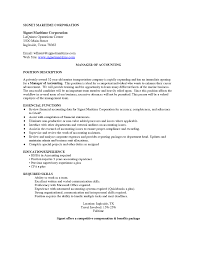 Cover Letter For Manager Position Fonplata