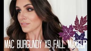 <b>MAC Burgundy</b> Times 9 Fall Makeup   Full Face Tutorial - YouTube