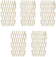 "Fencing Panel of Extendable Wood <b>Trellis Fence 5</b>' 11"" x 2' 11"" Set ..."