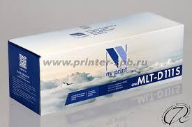 <b>Samsung MLT</b>-<b>D111S</b> | <b>Картридж</b> black/черный