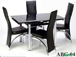 4 chair kitchen table: adjustable glass dining table and  chairs home furniture and daccor for sale at surulere