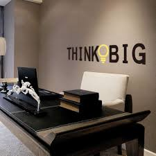 think big motivational study office quote wall sticker uk amazing wall quotes office