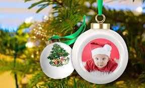 <b>White Porcelain</b> Customized <b>Christmas</b> Ornament   MailPix Blog
