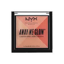 <b>Сухой</b> ХАЙЛАЙТЕР <b>NYX Professional Makeup</b> AWAY WE GLOW ...