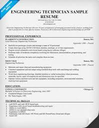 sample resume for project engineer electrical platinum class sample format of resume for mechanical mechanical technician cover letter