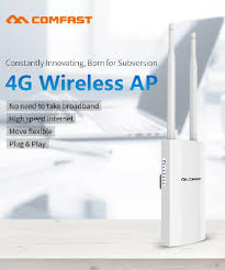 COMAFST CF E5 High Speed Outdoor 4G <b>LTE Wireless AP Wifi</b> ...
