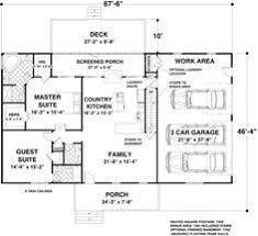 Square feet  Cottage house plans and Cottage house on Pinterest
