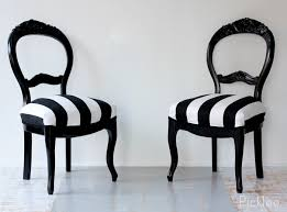 1000 images about black white furniture on pinterest dining chairs baroque and chairs black and white striped furniture