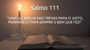 Resultado de imagem para imagens do salmo 111