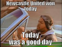 Newcastle Win - quickmeme via Relatably.com