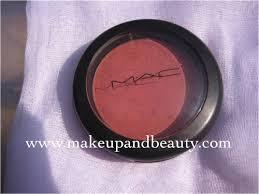 <b>MAC</b> Sheertone Blush <b>Pinch Me</b> Review, Swatch - Indian Makeup ...