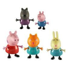 <b>Игровой набор Свинка Пеппа</b> Пеппа и друзья 5 фигурок, т.м. Peppa