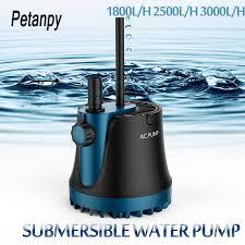 15/20/40/55/80W New Water Pump Fish Tank <b>Submersible</b> Ultra ...