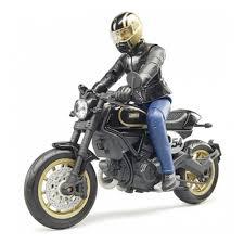 Масштабная модель <b>BRUDER</b> 63-050 <b>Мотоцикл Scrambler Ducati</b> ...