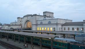 Dnipro railway station