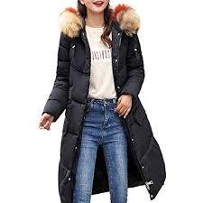 Limsea <b>2018</b> Women <b>Winter</b> Warm <b>Faux</b> Fur Collar Hooded <b>Zipper</b> ...