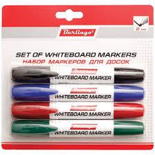 <b>Berlingo</b> Набор <b>маркеров для</b> досок 4 цвета - Акушерство.Ru