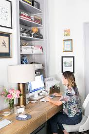 how to design a charming office in under 200 square feet charming office craft home wall storage