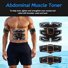 Fitness Equipment <b>Rechargeable Abdominal</b> Training Pad Waist ...