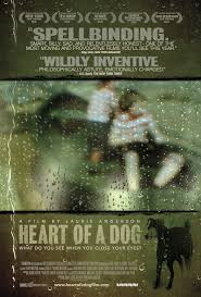 exclusive poster for heart of a dog might break your human heart
