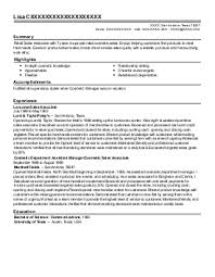 stay at home dad resume example  private contractor    new    lisa c