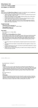 resume for human resources sample human resource resume resume for human resources 1725