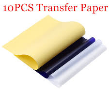 online get cheap tattoo transfer paper com alibaba group stencil tattoo transfer paper 10 sheets a4 size tattoo thermal stencil carbon copier paper for tattoo