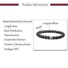 Newst <b>Trendy Lava Stone</b> Bracelet Men Prayer Beads Buddha ...