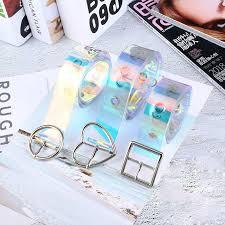 <b>Woman</b> Belt <b>Hollow</b> Versatile Fashion Belt Laser Students Belt ...