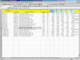 cost estimate spreadsheet template spreadsheet templates cost estimation civil engineering excel formulas for civil engineering pdf estimate format