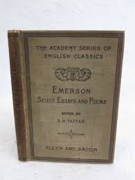 ralph waldo emerson essays first series ty crowell amp company  em tappan emerson selected essays and poems allyn and bacon c