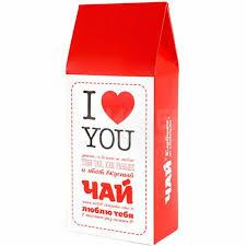 <b>Чай</b> Клубника со сливками I <b>love you</b> купить по цене 250 руб. в ...