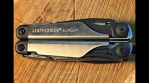 <b>Мультитул LEATHERMAN SURGE</b> Black&Silver Эволюция ...