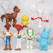 Hot <b>7pcs</b>/<b>set Disney</b> Movie <b>Toy Story</b> 4 Cartoon Doll Toy Woody ...