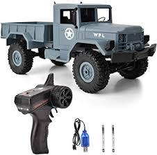Drfeify 4WD 1:16 <b>RC Truck</b>, <b>2.4G Remote Control Crawler</b> Car ...