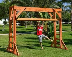 Free-standing, <b>height-adjustable</b> monkey bar system | Sheldon's ...