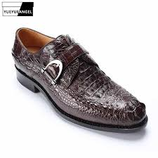 Luxury Alligator Leather Mens Joggers Sneakers <b>Brand Top Quality</b> ...