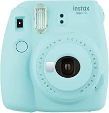 Fujifilm Instax Mini 9 - Ice Blue Instant Camera ... - Amazon.com