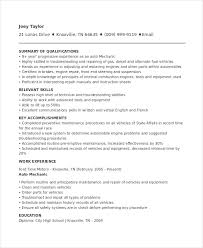 mechanic resume word pdf document s auto mechanic resume template