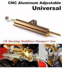 <b>1 piece Motorcycle</b> Integrated <b>CNC</b> Steering Damper Stabilizer For ...