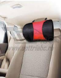 <b>Sotra подушка</b> для шеи большая красно/черная латекс (серия ...