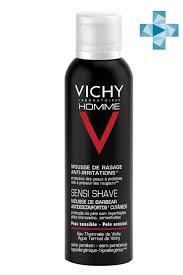 <b>Vichy</b> Homme <b>Пена для бритья</b> против раздражения кожи, 200 мл ...
