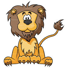 Image result for girl in a pen with lions clipart